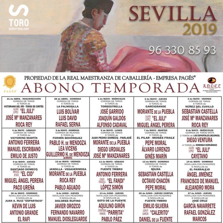 Toros Sevilla 2019